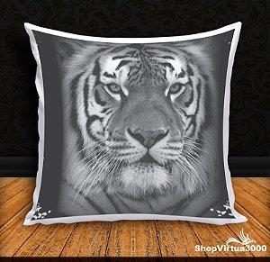 Almofada Personalizada Linha Pet Tigre Modelo 01 (Com Capa Material Oxford + Enchimento) - 01 Unidade