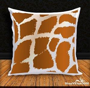 Almofada Personalizada Linha Pet Pele de Girafa (Com Capa Material Oxford + Enchimento) - 01 Unidade