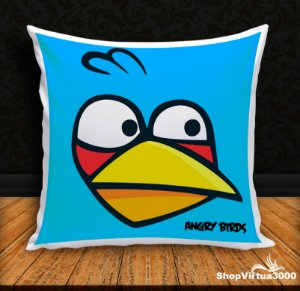 Almofada Personalizada Angry Birds Modelo 01 (Com Capa Material Oxford + Enchimento) - 01 Unidade