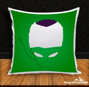 Almofada Personalizada Piccolo Dragon Ball Z (Com Capa Material Oxford + Enchimento) - 01 Unidade