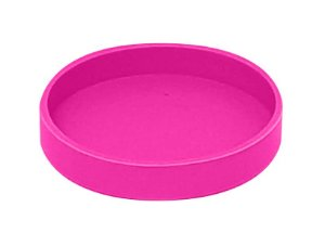 Base Silicone P/ Canecas - 7 Cm D - Rosa Pink (2264) - 01 Unidade