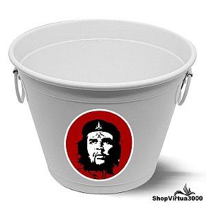Balde para Gelo Em Alumínio Linha Luxo Design Brilhante Personalizado Che Guevara Revolucionário - 01 Unidade