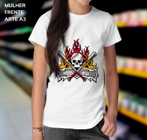 Camisa 100% Poliéster Personalizada Gang +55021 - 01 Unidade