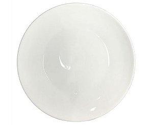 Prato Fundo de Porcelana Branco para Sublimação 19,0 cm (2849) - 01 Unidade