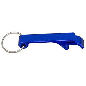 Chaveiro Abridor Em Aluminio 2x1 Azul para Trasfer Laser (LG5014) - 01 Unidade