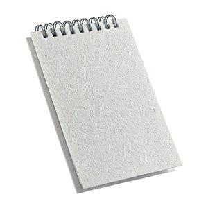 Caderneta de Rascunho Sublimática 9x14cm Pautada 100 Folhas Com Capa Em Material Pet (LG432) - 05 Unidades