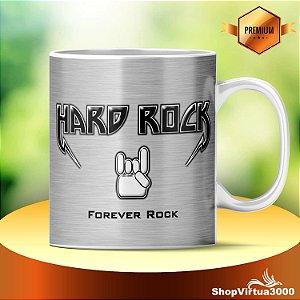 Caneca Cerâmica Classe +AAA Personalizada Hard Rock Forever Rock - 01 Unidade