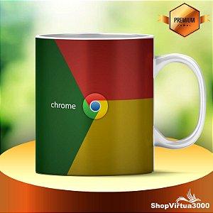 Caneca Cerâmica Classe +AAA Personalizada Google Chrome - 01 Unidade