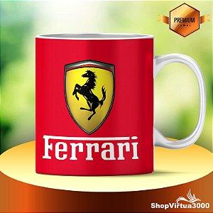 Caneca Cerâmica Classe +AAA Personalizada Ferrari 3D Horse - 01 Unidade