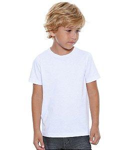 Camiseta/Camisa Tamanho Infantil 04 anos Gola Careca Manga Curta Unissex em Malha 100% poliéster Branca Sublimática - 01 Unidade (Dia das Crianças)