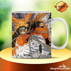Caneca Cerâmica Classe +AAA Personalizada Naruto Shippuden - 01 Unidade