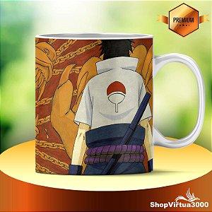 Caneca Cerâmica Classe +AAA Personalizada Naruto Madara Uchiha - 01 Unidade