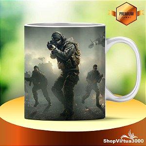 Caneca Cerâmica Classe +AAA Personalizada Call Of Duty Modelo 01 - 01 Unidade