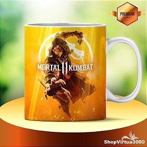 Caneca Cerâmica Classe +AAA Personalizada Mortal Kombat 11 - 01 Unidade
