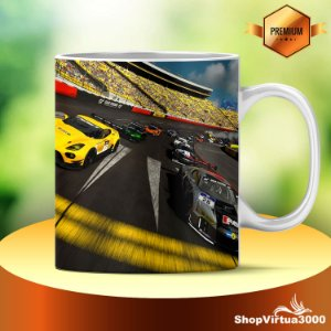 Caneca Cerâmica Classe +AAA Personalizada Gran Turismo Sport - 01 Unidade
