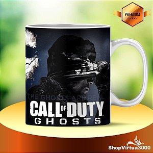 Caneca Cerâmica Classe +AAA Personalizada Call Of Duty Modelo 03 - 01 Unidade