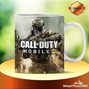 Caneca Cerâmica Classe +AAA Personalizada Call Of Duty Modelo 04 - 01 Unidade