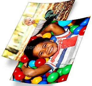 Papel Fotográfico Glossy (resistente à água apenas p/ tintas corantes) 260g/m² - A6 10x15 (SV3000) - 20 folhas