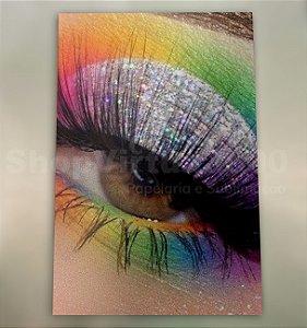 Papel Fotográfico Glossy (resistente à água apenas p/ tintas corantes) 260g/m² - A6 10x15 (BC-2011) - 100 folhas
