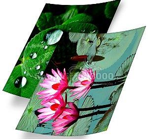 Papel Fotográfico Glossy (resistente à água apenas p/ tintas corantes) 230g/m² - A4 (SV3000) - 20 folhas