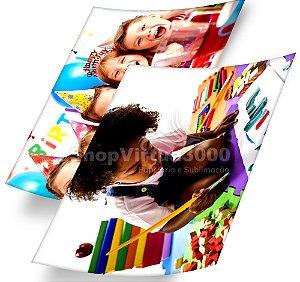 Papel Fotográfico Glossy Dupla Face 230g/m² - A4  ShopVirtua3000 - 20 Folhas (Promoção Natal)