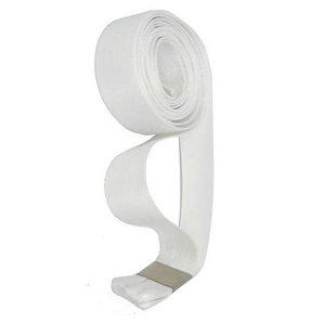 Cordão Sublimático Poliéster Branco (AL025) (Fita Tirante) - 01 Unidade