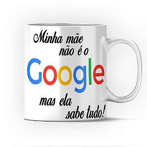Caneca Cerâmica Classe +AAA Personalizada Mãe Google - 01 Unidade (PEDIDO MÍNIMO DE 12 UNIDADES DESTE PRODUTO OU VARIADOS)