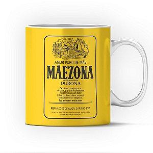 Caneca Cerâmica Classe +AAA Personalizada Mãezona (Maizena) - 01 Unidade (PEDIDO MÍNIMO DE 12 UNIDADES DESTE PRODUTO OU VARIADOS)