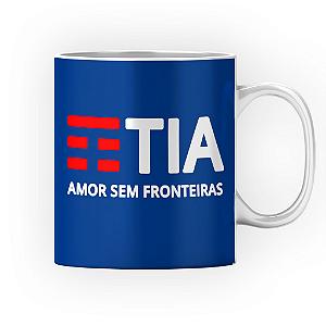 Caneca Cerâmica Classe +AAA Personalizada TIA - Amor Sem Fronteiras (TIM) - 01 Unidade (PEDIDO MÍNIMO DE 12 UNIDADES DESTE PRODUTO OU VARIADOS)