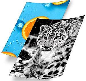 Papel Fotográfico Adesivo Glossy (resistente à água apenas p/ tintas corantes) 115g/m² - A3 (SV3000) - 20 folhas (Promoção Natal)