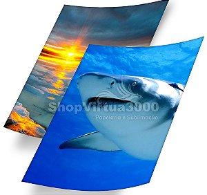 Papel Fotográfico Glossy Dupla Face 180g/m² - A4  ShopVirtua3000 - 20 Folhas (Promoção Natal)