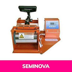 Prensa Térmica Digital Seminova Para Sublimação de Squeeze 110 Volts (A002) - 01 Unidade