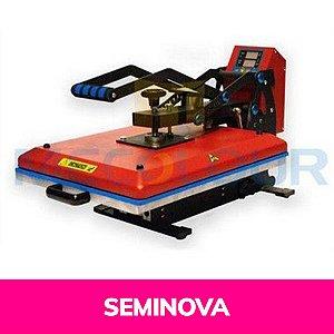 Prensa Térmica Eletromam Plana 38x45 Digital 110v A3 Seminova (A109) - 01 Unidade