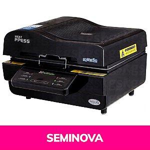 Prensa Térmica 3D Forno à Vácuo 110v Seminova (2161) - 01 Unidade