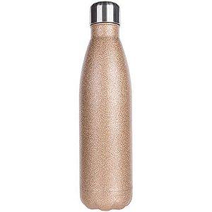 Garrafa Térmica Para Sublimação em Inox Glitter Dourado 500ml (2672) - 01 Unidade