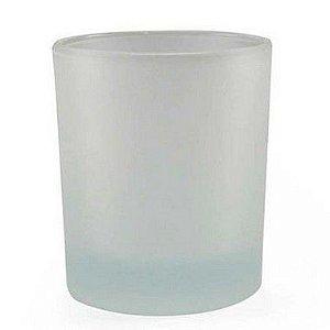 Copo de Vidro Jateado Tipo Whisky 250ML (481) - 48 Unidades (Caixa Master)