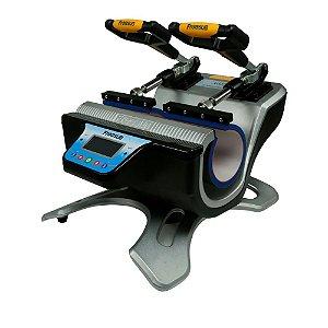 Prensa Térmica Dupla 220V - para Canecas e materiais cilíndricos ShopVirtua3000® (3374) - 01 Unidade