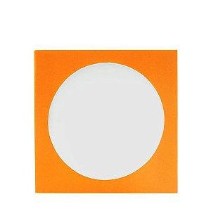Envelope papel janela Acetato Laranja - 100 Unidades