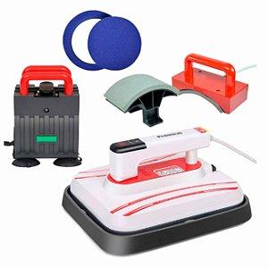 Prensa Térmica PORTÁTIL Combo 6 em 1 30x25cm - 110v ShopVirtua3000® (3403) (LiveSub) - 01 Unidade