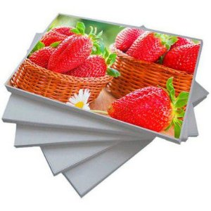 Papel Fotográfico Adesivo Matte 115g A4 - Shopvirtua3000  (BC-2037) - 100 folhas