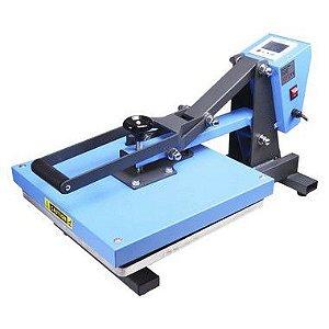 Prensa Térmica Manual Plana 38x38 Cm - 220v Display Digital  ShopVirtua3000® (3358) (LiveSub)