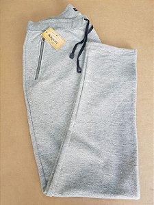 Calça Moleton com ziper