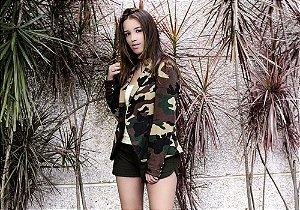 Blazer Feminino Militar
