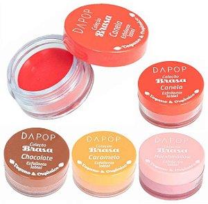Dapop - Esfoliante Labial Vegano  DP2047 - 4 Unidades