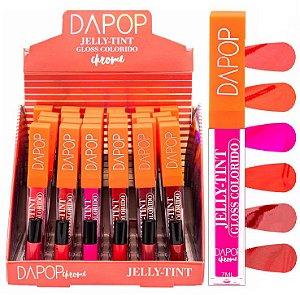 Dapop - Gloss Jelly Tint  HB684999 - Display C/ 24 Unid e Prov