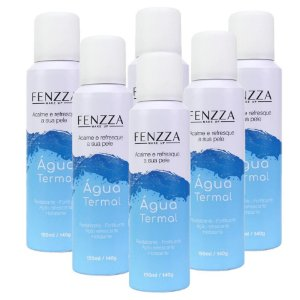 Fenzza - Água Termal FZ50004 - Kit C/ 6 Unid