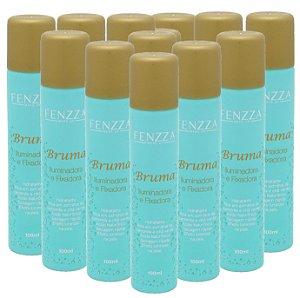 Bruma Fixador de Maquiagem Fenzza Gold - Kit com 12 Unidades
