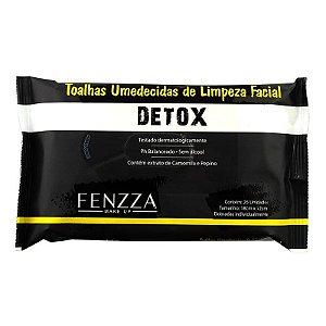 Fenzza - Toalhas Umedecidas de Limpeza Facial Detox FZ51013 - 12 Unidades