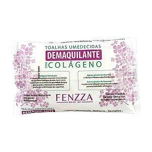Toalha Umedecida com Colágeno Fenzza FZ51007 - 12 Unidades