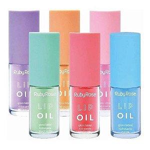 Lip Oil Ruby Rose 6 Tons HB9221 - Kit C/ 6 Unidades